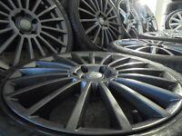"19"" dtm alloys wheels audi a3 a4 a5 a6 a8 fit mercedes vito t4 caddy camper transporter"