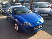 MG TF 1.6 PETROL MANUAL ROADSTER BLUE WITH HARD TOP 2003 CONVERTIBLE