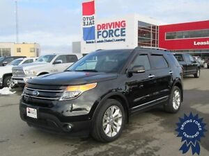 2012 Ford Explorer Limited 4x4, Quad Bucket Seats, 54,685 KMs