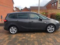 Vauxhall Zafira tourer 1.6 Cdti 7 seaters only 27000 miles