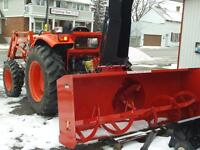 snow blowers 3 point hitch rear pto tractor mounted