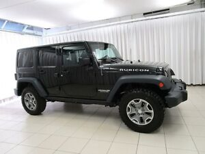 2017 Jeep Wrangler UNLIMITED RUBICON 4x4  w/ NAV, COLD WEATHER &