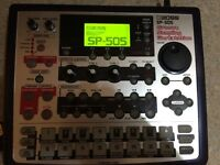 Boss Sp-505 Groove Sampling Workstation Sampler with 2 128mb Memory cards