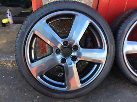 Audi Refurbished Wheels with Tyres