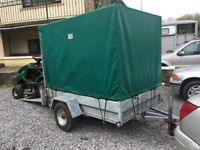 Trailer 6x4, excellent small trailer with canopy