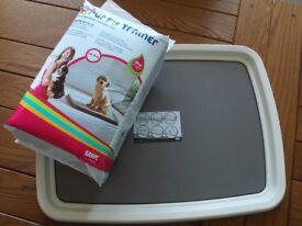 Puppy Training Tray and Pads - Savic - Brand New