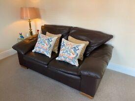 3 & 2 Leather Seat Sofa