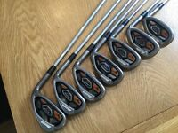 Mizuno jpx ez irons 5 through to sand wedge
