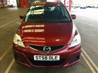 2009 Mazda 5 1.8 TS2 5dr,7 SEATER, SERVICE HISTORY HPI CLEAR PH,07459871313