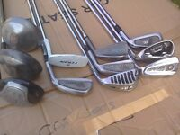 Golf club set - 11 in total irons