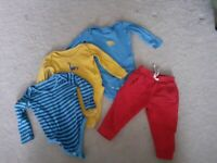 Baby Boy Clothes Bundle 9-12 Months (John Lewis)