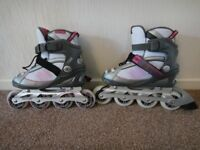 No Fear Flare in line skates size uk 5 as new