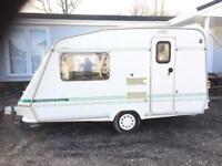 Sold sold Caravan elddis wisp 350/2 13ft 2berth with full awning