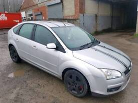 2007 FORD FOCUS 1.8 STYLE TDCI 5 DOOR HATCHBACK SILVER