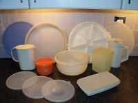 Job Lot Vintage Tupperware - Price is for all items (OVNO)- Bargain
