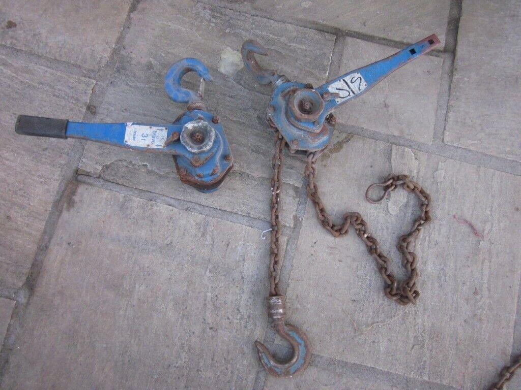 Tractel Bravo 3 T Ratchet Lever Lifting Hoist - Block & Chain   in  Cambuslang, Glasgow   Gumtree
