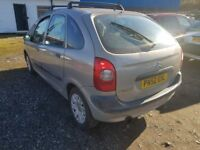 CITREON XSARA PICASSO 2.0 DIESEL ( ANY OLD CAR PX WELCOME )