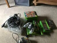 Old Xbox + loads of games