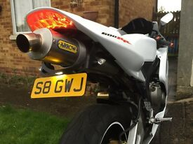 Honda cbr600rr low millage