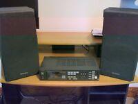 Technics Stereo Tuner & Speakers