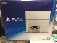Sony PS4 500gb boxed with 2 month warranty