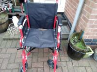 New self propelled wheelchair