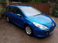 2005 PEUGEOT 307 ESTATE 1.6 *PERFECT FAMILY CAR* VERY CLEAN CAR INSIDE AND OUT