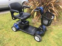 Pride gogo sport 23 stone mobility scooter nee batteries free delivery 75 miles!