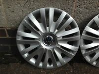 Genuine VW Golf mk 6/7 set of 4 15 inch wheel trims