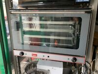 NEW STEAM OVEN BAKERY COMMERCIAL CATERING KITCHEN TAKE AWAY SHOP 1 PHASE