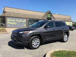 2017 Jeep Cherokee Limited / LEATHER / NAVIGATION