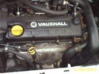 VAUXHALL 1.7 DIESEL ENGINE Y17DTI
