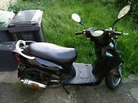 DB125 scooter for repair