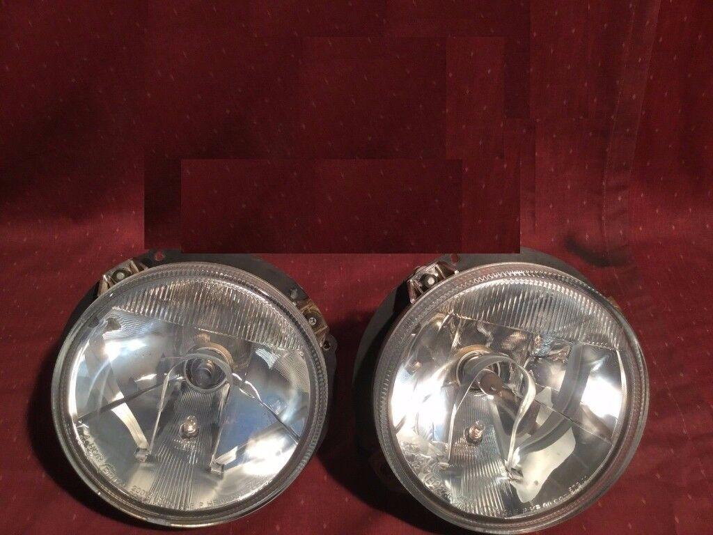 Original clear (white) headlights G class wagon dashboard W463 2000 - 2017