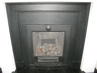 Stovax-Gazco complete Gas working fireplace with mantle and hearth.