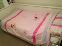 Laura Ashley single bed duvet set.