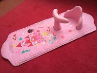 Mothercare aqua pod bath seat and mat