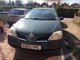 For Sale: Nissan PRIMERA 2003