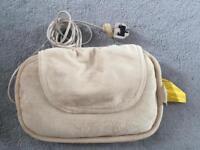 Shiatsu Pillow w/Heat Homedics massage