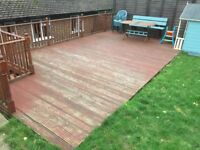 Decking reversible boards used 150x35mm 4.2m long