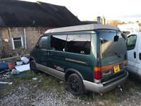 Ford Freda 1996 pop up electric roof 120k £1200