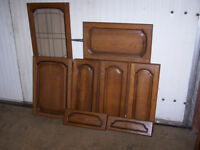 used oak kitchen cupboard doors