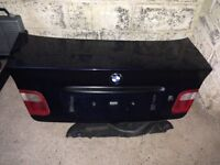 Bmw e46 boot lid