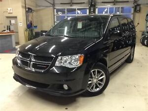 2015 Dodge Grand Caravan SXT PREMIUM PLUS.CUIR.STOW AND GO.SIRIU