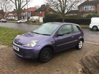 SINGLE OWNER, FULLY HPI CLEAR, LONG MOT, FORD FIESTA STYLE - 1.2, MAUVE/PURPLE, MANUAL, 2007