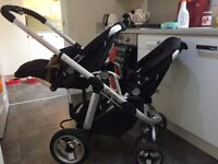 I Candy Apple to Pear double / single pushchair / buggy and accesories