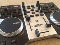 Hercules DJ decks, USED ONCE