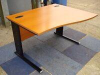 1200mm Cherry Wave Desk