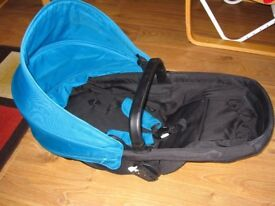 ***Kiddicare Mooch Carrycot/Seat Blue***