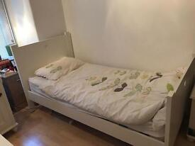 White single bed originally from GLT